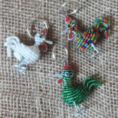 3D-keyring-beaded-chicken-wire-South-African-for-sale-bazaar-africa