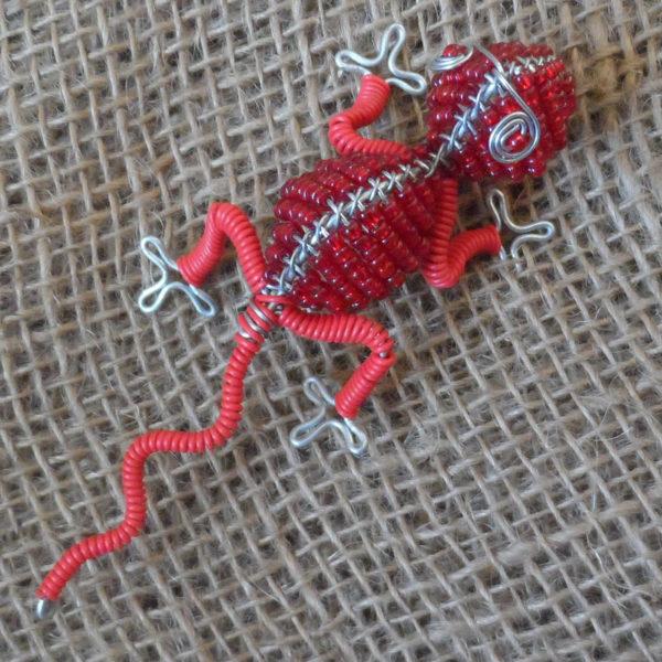 Beaded-mini-gecko