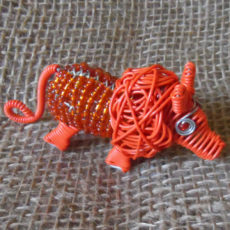 Beaded-mini-lion
