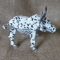 Beaded bull or buffalo?
