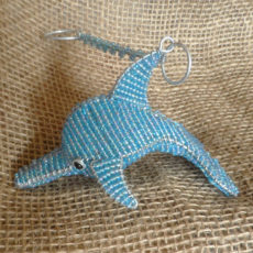Small beaded dolphin from S. Africa