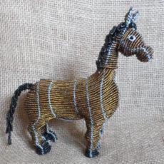 Beaded horse, handmade in S. Africa