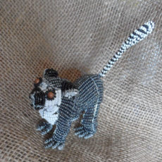 Lemur handcrafted in S.Africa from beads