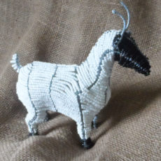 Large beaded goat, hand crafted in South Africa