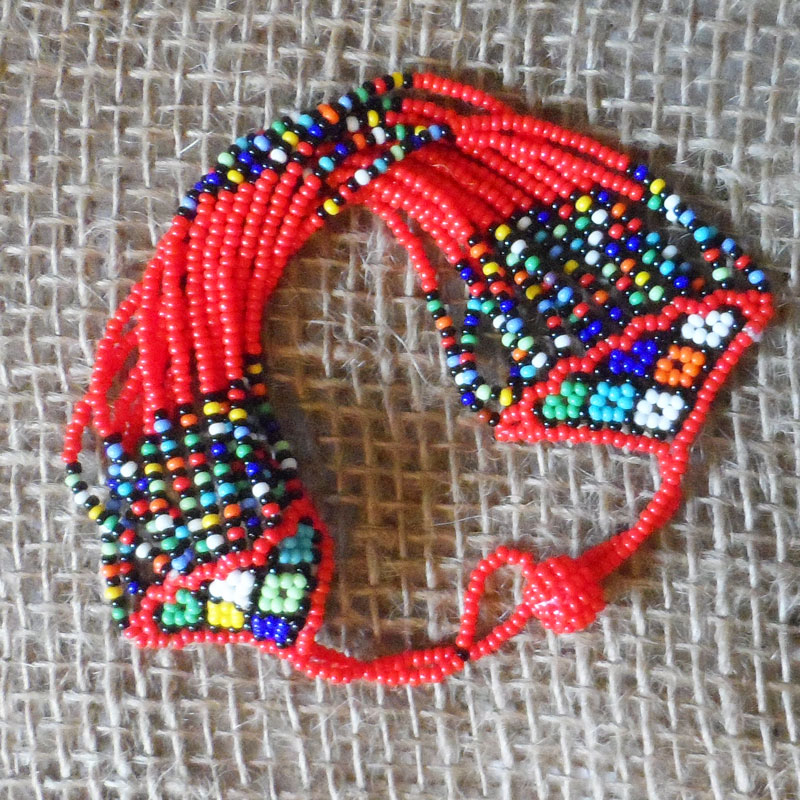 Choose your colour! Lovely handmade bead bracelet Made with seed beads