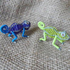 Beaded-mini-chameleon