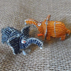 Beaded-mini-elephant