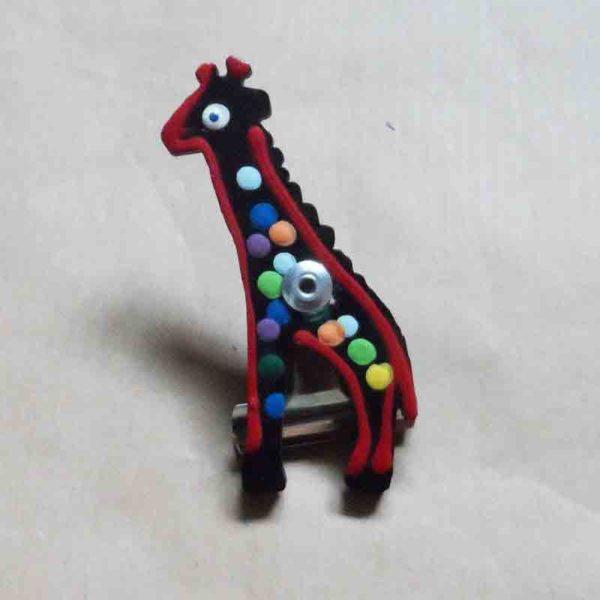 CWTgr-Animal-painted-stationery-clip-giraffe-for-sale-Bazaar-Africa