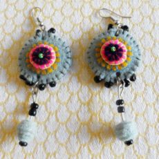 EaZg-Felt-disc-handsewn-earrings-for-sale-bazaar-africa