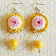 EaZm-Felt-disc-handsewn-earrings-for-sale-bazaar-africa