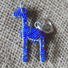 KY7gb-3D-keyring-beaded-blue-giraffe-wire-South-African-for-sale-bazaar-africa