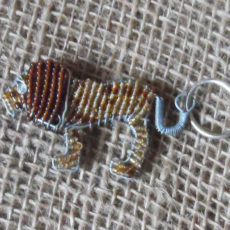 KYBl-keyring-beaded-lion-wire-South-African-for-sale-bazaar-africa