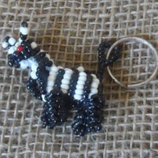 KYCz-3D-keyring-beaded-zebra-Kenyan-for-sale-bazaar-africa