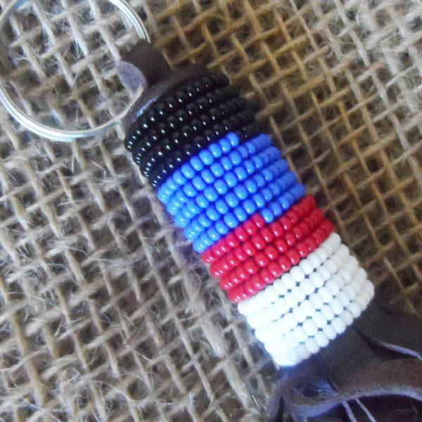KYkl2-Leather-bead-keyring-handmade-in-Kenya-for-sale-bazaar-africa