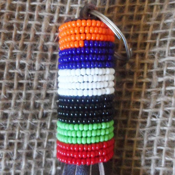 KYkl6-Leather-bead-keyring-handmade-in-Kenya-for-sale-bazaar-africa