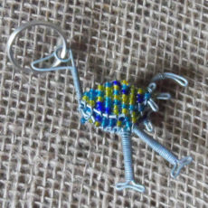 KYo3-3D-keyring-beaded-ostrich-wire-South-African-for-sale-bazaar-africa
