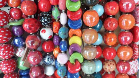 kazuri ceramic jewellery