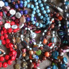 Kazuri necklaces