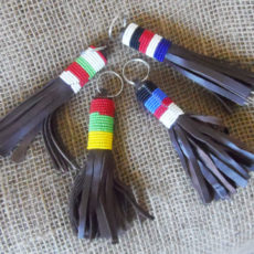 Leather1-bead-keyring-handmade-in-Kenya-for-sale-bazaar-africa