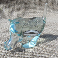 Nysw-Recycled-glass-warthog-from-Swaziland-hand-made-for-sale-bazaar-africa