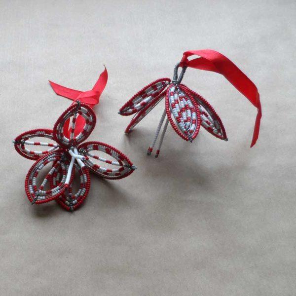 Xhri-Christmas-beaded-hibiscus-decoration-for-bazaar-africa