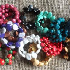 Kazuri bracelets