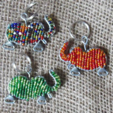 keyring-beaded-elephant-wire-South-African-for-sale-bazaar-africa
