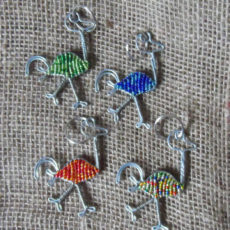 keyring-beaded-ostrich-wire-South-African-for-sale-bazaar-africa
