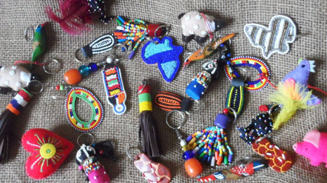 Maasai dog collars and leads