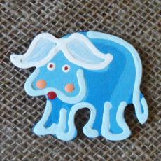 Handmade buffalo magnet