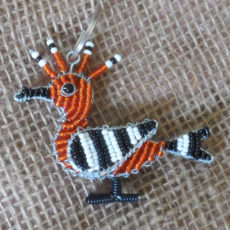 KYSho-flat-keyring-beaded-hoopoe-wire-South-African-for-sale-bazaar-africa