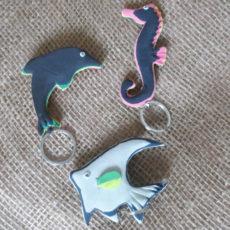 flat-keyring-sea-life-Kenyan-recycled-flip-flop-for-sale-bazaar-africa