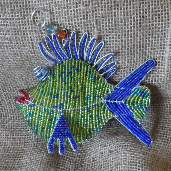 BAifb-beaded-3D-blue-fish-on-wire-frames-for-sale-bazaar-africa