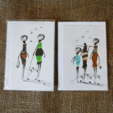 Crdm-handcrafted-cards-set-of-2-for-sale-Bazaar-Africa