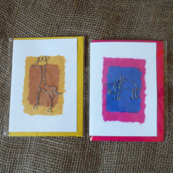Crdm1-handcrafted-cards-set-of-2eg-for-sale-Bazaar-Africa