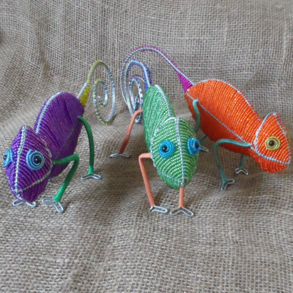 beaded-3D-chameleon-on-wire-frames-for-sale-bazaar-africa