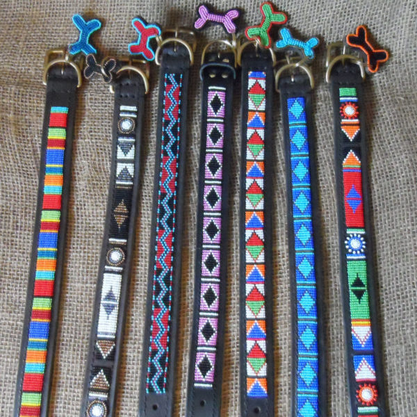 Maasai-1 ¼-beaded-dog-collars-on-leather-handmade-in-Kenya-