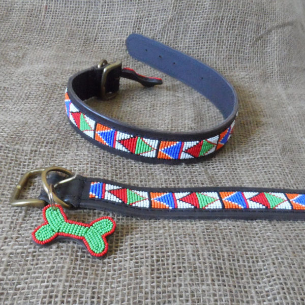 Maasai-1 ½-beaded-dog-collars-bright-triangles-on-leather-handmade-in-Kenya.jpg