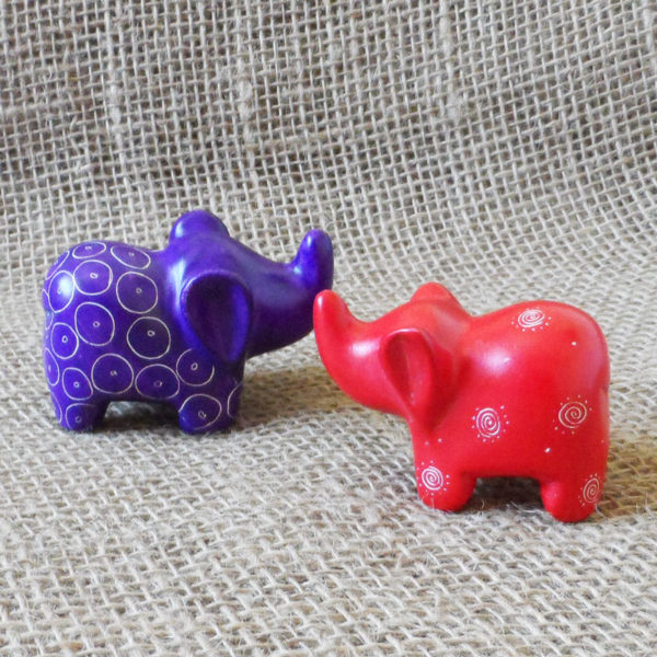 Soapstone-elephant-small-ears-hand-carved-in-Kenya-for-sale-bazaar-africa