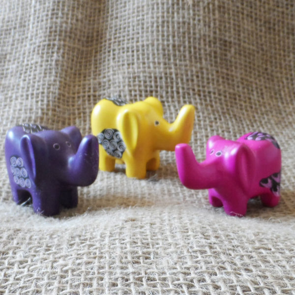 Soapstone-elephants1-small-hand-carved-in-Kenya-for-sale-bazaar-africa