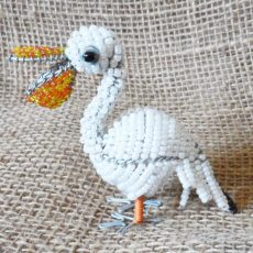 BASpcs-Beaded-3D-pelican-small-on-wire-frame-for-sale-bazaar-africa