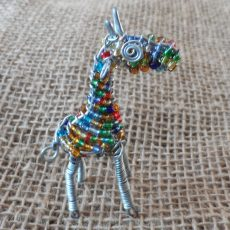 BAEAg-Beaded-3D-animals-giraffe-small-on-wire-frames-for-sale-bazaar-africa