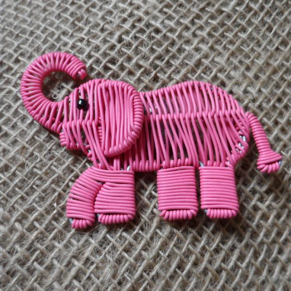 MGASep-Magnets-telephone-wire-animals-pink-elephant-for-sale-bazaar-africa