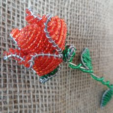Rose-South-African-beaded-rose-flower-for-sale-bazaar-africa