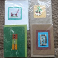 Crd2a-handcrafted-cards-set-of-4-for-sale-Bazaar-Africa