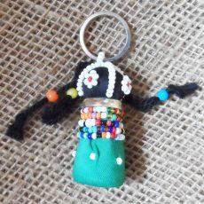 Kyzd-zulu-doll-keyring-handcrafted-for-sale-bazaar-africa